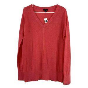 GAP | Womans Tunic Sweater Medium Capri Pink